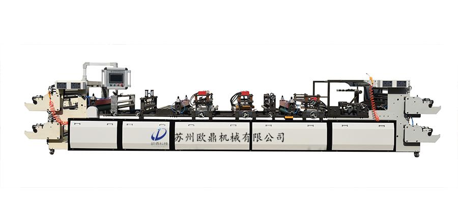 高速OD1200型气柱卷材任意易撕拉型气柱袋机器